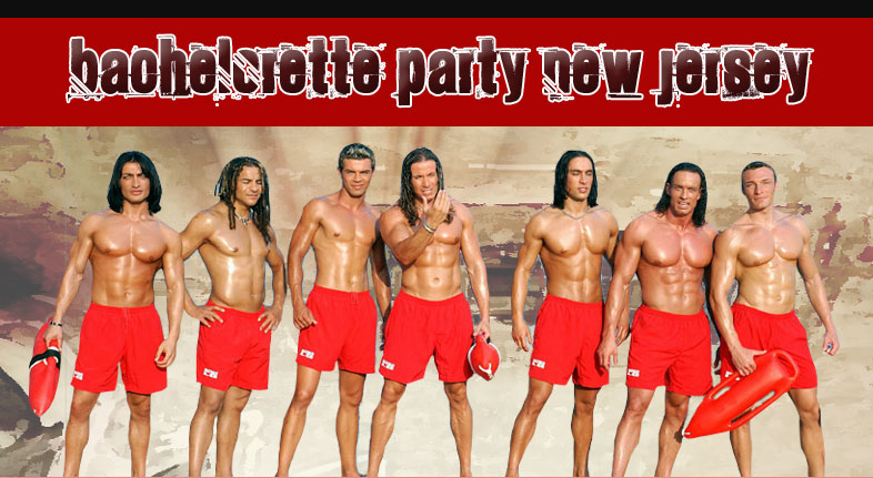 Bachelorette party New Jersey male strippers show photo.
